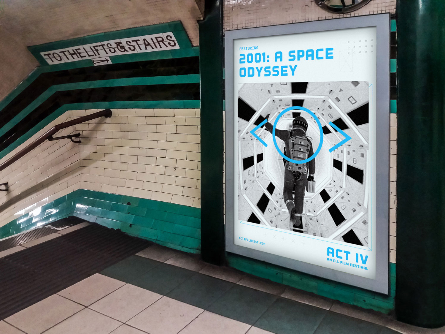 ACT IV Poster in the Underground